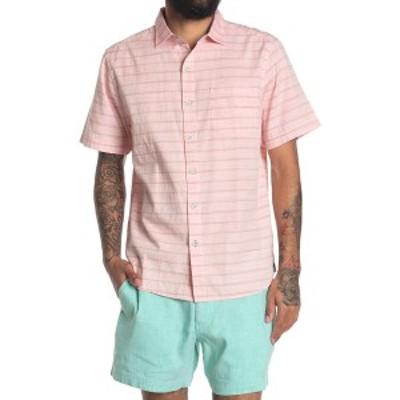 トッミーバハマ メンズ シャツ トップス Desert Breeze Stripe Shirt MANGO BLOSSOM