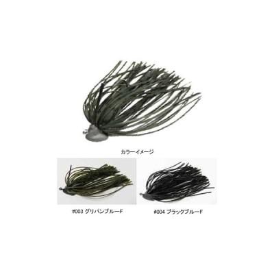 バス釣り用ハードルアー HIDEUP HU-スライドフォールジグ 3.5g #004 ブラックブルーF