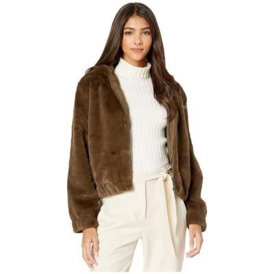 カップケーキアンドカシミア レディース コート アウター Breda Faux Fur Hooded Jacket