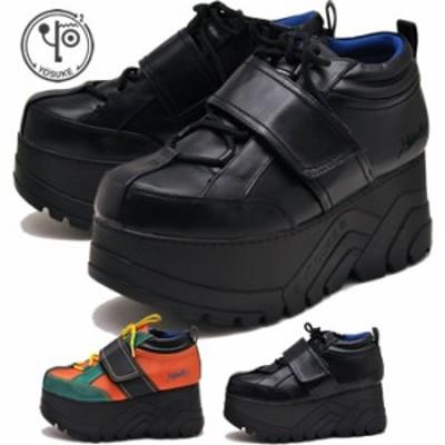 YOSUKE ヨースケ 靴 厚底スニーカー メンズ ベルクロ ※(予約)は3営業日内に発送