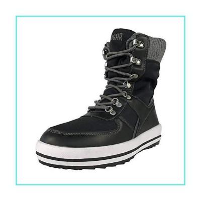 【新品】COUGAR Women's Vergio Waterproof Lace Up Winter Boots Black 8 Medium US(並行輸入品)