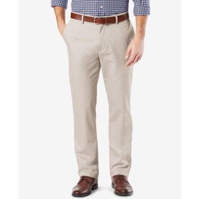 ドッカーズ カジュアルパンツ ボトムス メンズ Mens' Signature Lux Cotton Straight Fit Stretch Khaki Pants Cloud