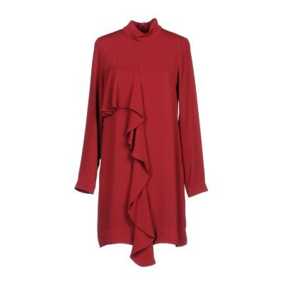 シルビアンヒーチ SILVIAN HEACH ミニワンピース&ドレス レンガ S ポリエステル 100% ミニワンピース&ドレス