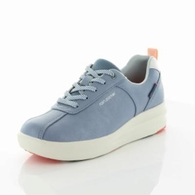 還元祭 春新作 ムーンスター レディース スニーカー 靴 RPL104 ブルー 防水 晴雨兼用 レインシューズ やわらかクッション