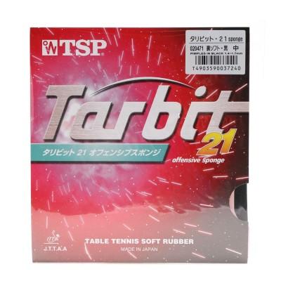 ティーエスピー TSP 卓球ラバー タリビット・21 sponge 裏ソフト 厚さ:中 20471 ブラック