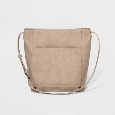 ユニバーサルスレッド Universal Thread レディース ショルダーバッグ バケットバッグ バッグ Zip Closure Bucket Bag - Beige