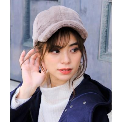 14+(ICHIYON PLUS) / フェイクファーキャップ WOMEN 帽子 > キャップ