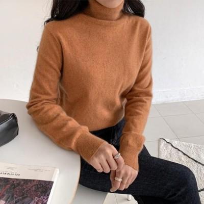 ENVYLOOK レディース ニット/セーター Raccoon Wool Turtleneck Knitwear