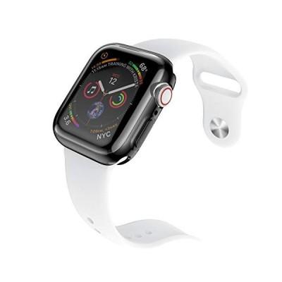 Apple Watch ケース Series 4、TPU 全面保護 ケース と周り保護ケースフルスクリーンプロテクターショックバンパーカバーアップルi