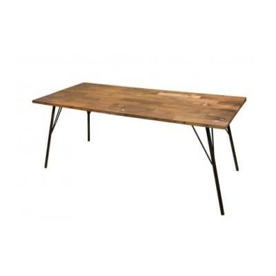 gleam カヌーの古材ダイニングテーブル180(kanoナチュラル)
