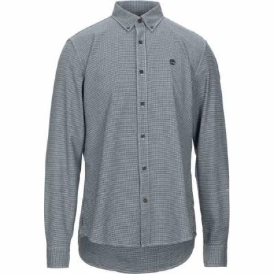 ティンバーランド TIMBERLAND メンズ シャツ トップス Patterned Shirt Dark blue