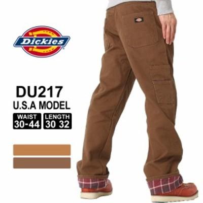 ディッキーズ ペインターパンツ リラックスフィット ダック チェック柄 DU217 股下 30インチ 32インチ ウエスト 30~44インチ 大きいサイ