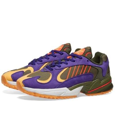 アディダス Adidas メンズ スニーカー シューズ・靴 Yung 1 Trail Khaki/Solar Red