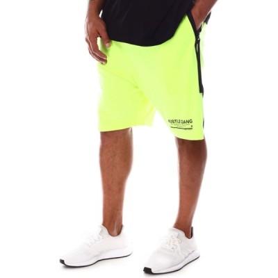 ハッスルギャング Hustle Gang メンズ ショートパンツ ボトムス・パンツ utility shorts (b&t) Neon Yellow