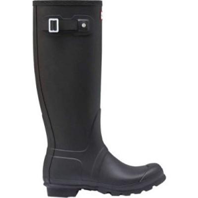 ハンター Hunter レディース レインシューズ・長靴 シューズ・靴 Original Tall Rain Boot Black