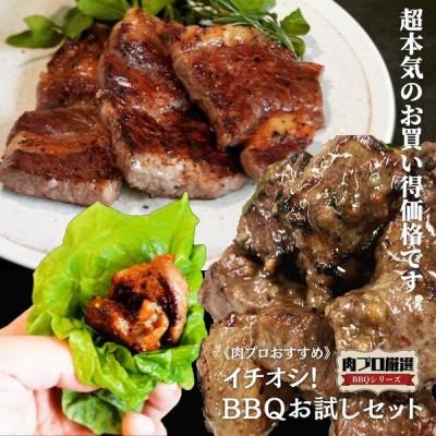 《肉プロおすすめ》イチオシ!お試しBBQセット おうち焼肉 グルメ BBQ食材 キャンプ お取り寄せ