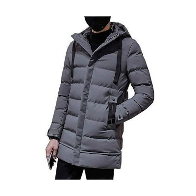 ジャケット メンズ 中綿入り 防風防寒 フード付き 大きなポケット 作業服 ダウンジャケット カジュアル 大きいサイズ 秋冬