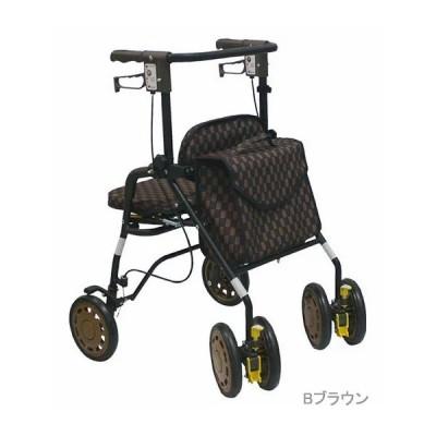 歩行車 介護用品 歩行補助 島製作所 シンフォニーEVO 座面有