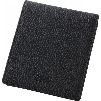 カンサイセレクション メンズ折財布 ブラック  S-KSE25046BK (ギフト対応不可)