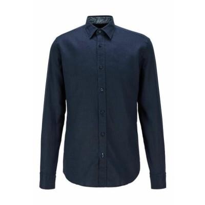 ボス メンズ ファッション Shirt - dark blue