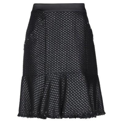 KARL LAGERFELD ひざ丈スカート  レディースファッション  ボトムス  スカート  ロング、マキシ丈スカート ブラック