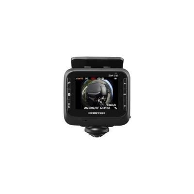 コムテック 360°カメラ+リアカメラ搭載 高性能ドライブレコーダー ZDR037
