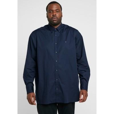 トミー ヒルフィガー シャツ メンズ トップス STRETCH - Shirt - blue