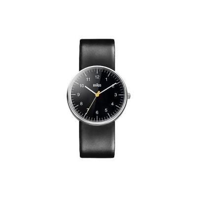 腕時計 ブラウン Braun Men's BN0021BKBKG Classic Stainless Steel Watch with Black Band