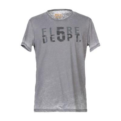 ブラウアー BLAUER T シャツ ドーブグレー S コットン 50% / ポリエステル 50% T シャツ