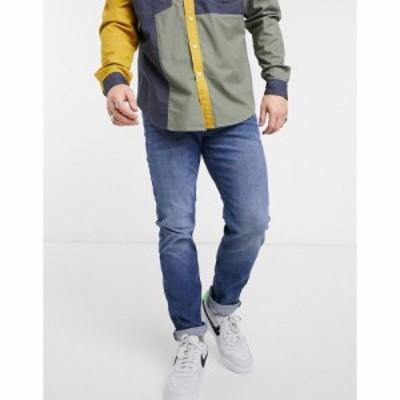 トムテイラー Tom Tailor メンズ ジーンズ・デニム ボトムス・パンツ Slim Piers Jeans In Mid Wash Blue ブルー