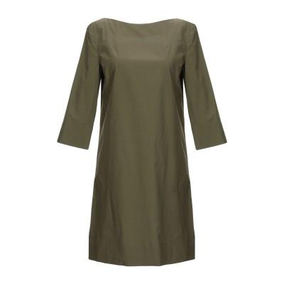 マルニ MARNI ミニワンピース&ドレス ミリタリーグリーン 42 コットン 100% ミニワンピース&ドレス