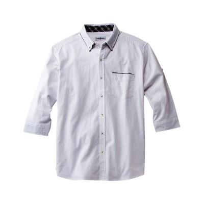 Louis Chavlon 2枚衿オックス7分袖シャツ カジュアルシャツ, Shirts, テレワーク, 在宅, リモート