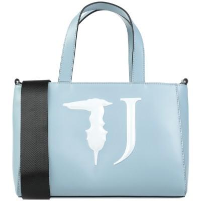 トラサルディ ジーンズ TRUSSARDI JEANS ハンドバッグ スカイブルー ポリエステル 100% / ポリウレタン樹脂 ハンドバッグ