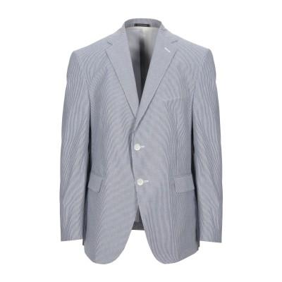 DALTON & FORSYTHE テーラードジャケット ブルー 54 コットン 100% テーラードジャケット