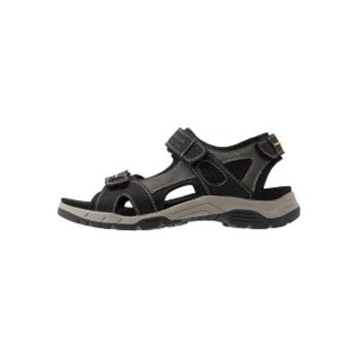トムテイラー メンズ サンダル シューズ Walking sandals - black black