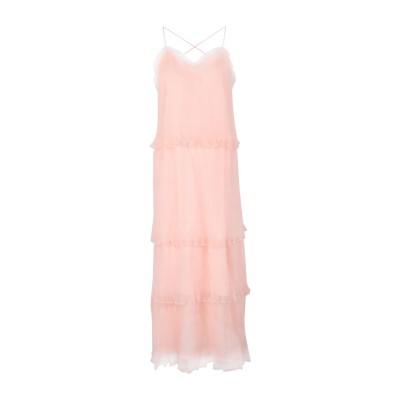 TRUE DECADENCE 7分丈ワンピース・ドレス サーモンピンク 8 ポリエステル 100% 7分丈ワンピース・ドレス