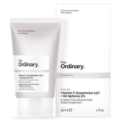 【国内発送】THE ORDINARY ジオーディナリー Vitamin C Suspension 23% + HA Spheres 2% ビタミンC サスペンション ビタミンクリーム 30ml