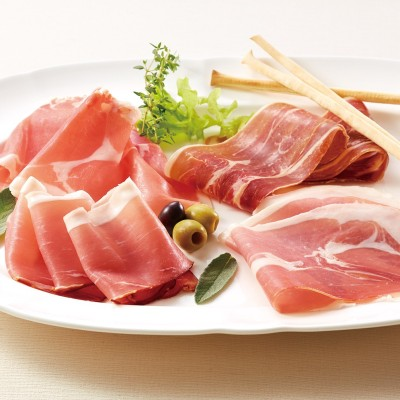 ヨーロッパ生ハム食べ比べセット ハム・ソーセージ