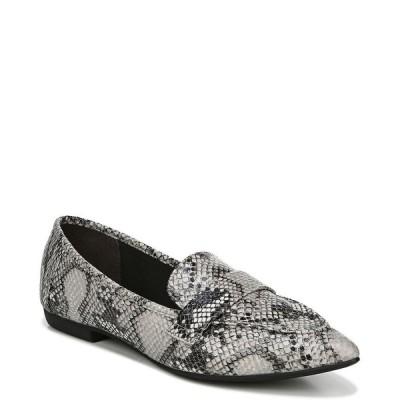 ファーガリシャス ファーギー Fergalicious レディース スリッポン・フラット シューズ・靴 Jemm Flats Black/White Snake