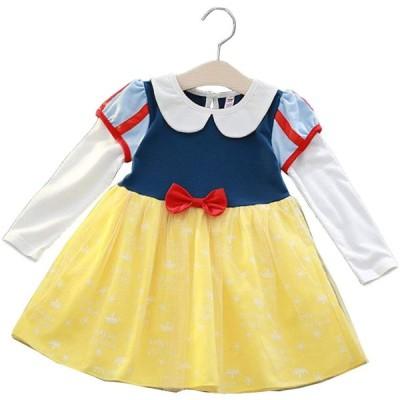 【 選べる 】monoii プリンセス ドレス 子供 雪の女王 アリス ちいさな お姫様 コスチューム キッズ ハロウィン 仮装 衣装 女の子 (10