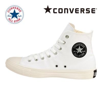 コンバース [2021年春新作] CONVERSE スニーカー メンズ/レディース オールスター ブラックジップ HI ホワイト