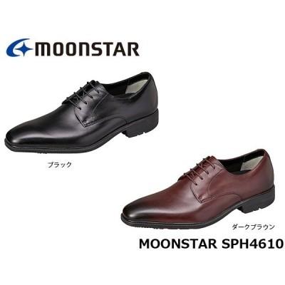 ムーンスター メンズ ビジネスシューズ SPH4610 3E BALANCE WORKS サラリーナ 防水 本革 革靴 靴 紳士靴 月星 MOONSTAR SPH4610