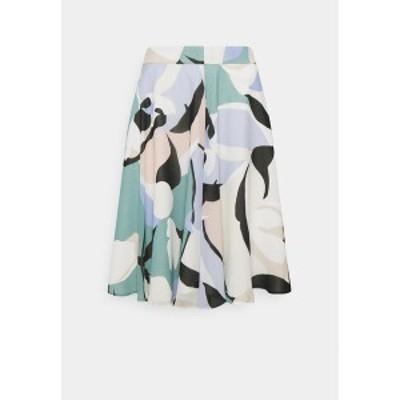エスプリ レディース スカート ボトムス PER - A-line skirt - dark turquoise dark turquoise