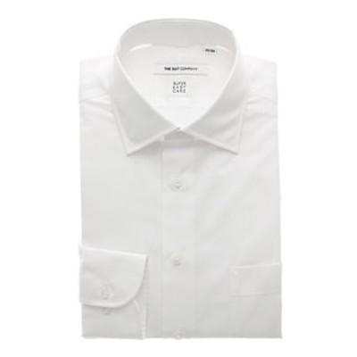 【COOL MAX】ワイドカラードレスシャツ シャドーストライプ 〔EC・FIT〕