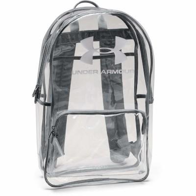 アンダーアーマー バックパック・リュックサック バッグ メンズ UA Clear Backpack Clear/White