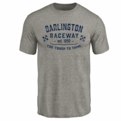Fanatics Branded ファナティクス ブランド スポーツ用品  Darlington Raceway Ash Established Tri-Blend T-Shirt