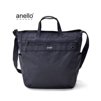 anelloGRANDE(アネログランデ) 軽量はっ水2WAYトートバッグ(A4対応) トートバッグ・手提げバッグ, Bags