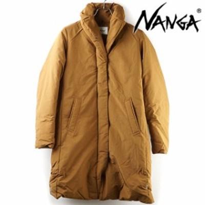 ナンガ NANGA レディース ショールカラーダウンコート SHAWL COLLAR DOWN COAT [ FW20] アウトドア アウター ダウンジャケット BROWN ブ