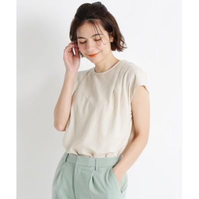 tシャツ Tシャツ 【S-LL】クールタックフレンチスリーブプルオーバー