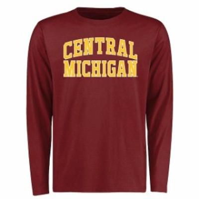 Fanatics Branded ファナティクス ブランド スポーツ用品  Cent. Michigan Chippewas Maroon Everyday Long Sleeve T-S